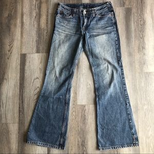 Lucky Brand Jet Setter Distressed Jeans  4 27 28